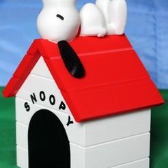 Modelos 3D gratis Snoopy, HellBoy