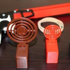 Impresiones 3D gratis Jumping Target for Toy Shooting, HellBoy