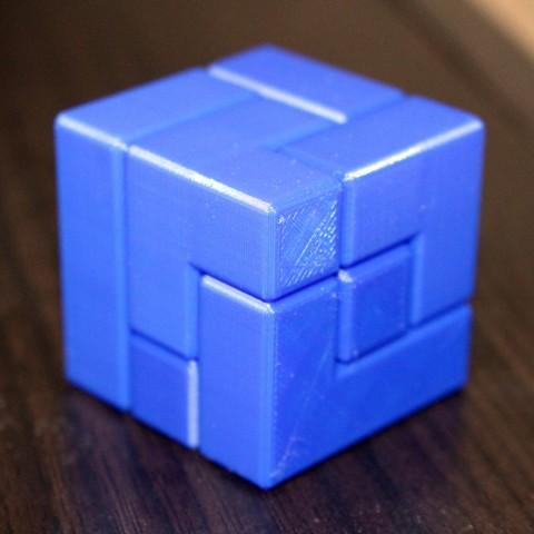 01c57261af8dc 3D printer 3x3 Puzzle Cube ・ Cults