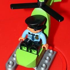 Modelos 3D gratis Duplo Compatible Mini Helicopter, HellBoy