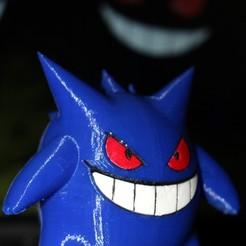 Archivos 3D gratis Gengar / ゲ ン ガ ー / 耿 鬼 - Pokemon, HellBoy