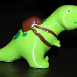 Archivos 3D gratis Pequeño T-Rex, HellBoy