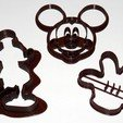 Download STL file Cookie_cutter_Mickey • 3D print design, HellBoy