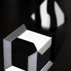 Archivos 3D gratis Cubo de guías de deslizamiento, HellBoy