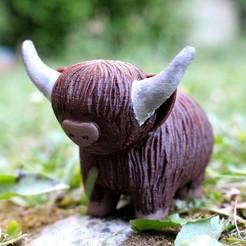 Modelos 3D gratis Vaca de montaña, HellBoy