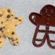 Descargar diseños 3D gratis Gingerbread Cookie Cutter, HellBoy