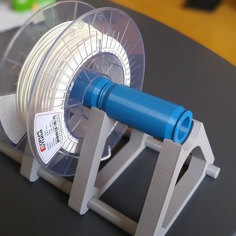 3D print files Modular (Endless) Spool Holder, Saran