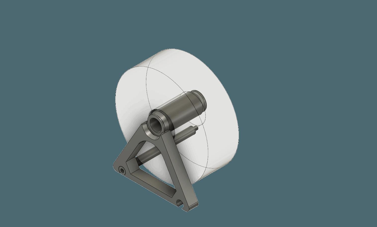 Parallel spool holder v26.png Download STL file Modular (Endless) Spool Holder • 3D print template, Saran