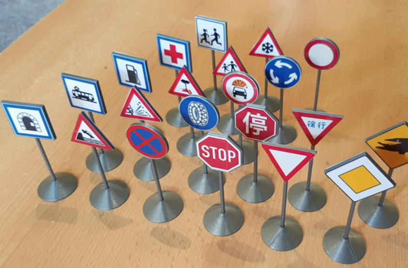 Capture d'écran 2018-07-24 à 15.31.07.png Download free STL file Traffic Sign Models • 3D print model, Saran