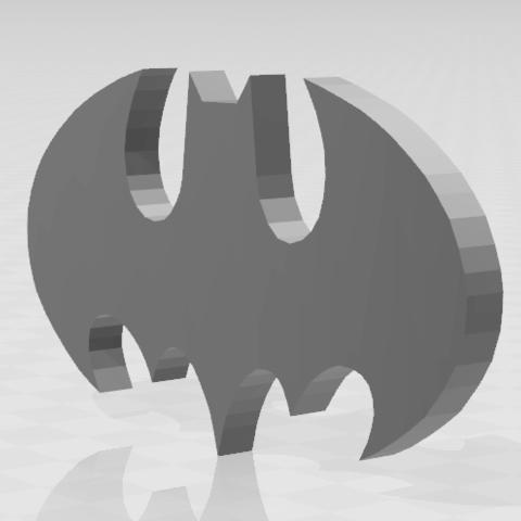 Capture 2.PNG Download STL file Batman • 3D print object, inventeur