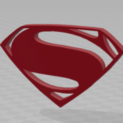 3D printing model Superman, inventeur