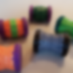 Big_Counter_x_15_lying.stl Download free STL file Spinning Life Counter • 3D printing model, kejser