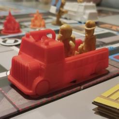 """objet 3d gratuit Firetruck pour """"Flashpoint"""", kejser"""