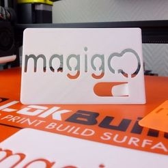 Download free STL file MAGIGOO V3 business card • Template to 3D print, quemalfd