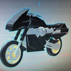 Download STL files motorcycle street hawk, mda33