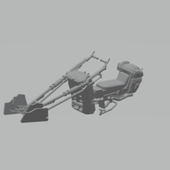 Descargar diseños 3D speeder bike star wars the mandalorian, mda33