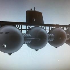 Impresiones 3D hombre submarino de cetáceos de atlantis, mda33