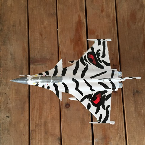 Free 3D printer files Dassault Rafale, mda33