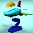 Modelos 3D para imprimir gratis MB 339 PAN deformado, Fabiosartbox