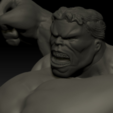Archivos STL gratis Estatua de Hulk, Fabiosartbox