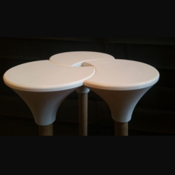 Free 3d printer designs Cluster (the full sized) Stool, Pongo