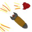 Archivos 3D gratis Rocket Corn Holders, Pongo