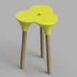 Capture d'écran 2018-01-26 à 16.08.30.png Download STL file Cluster (the full sized) Stool • 3D print object, Pongo