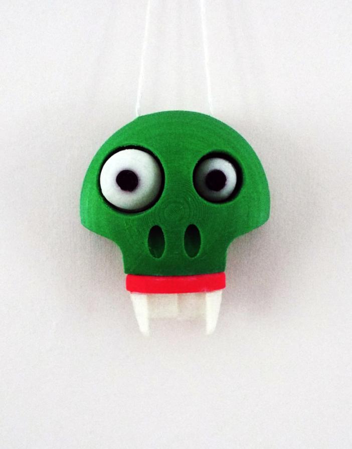 Capture d'écran 2018-01-26 à 16.02.37.png Download free STL file Halloween Glow in the dark wall/door hanger (Skelton) • 3D print object, Pongo