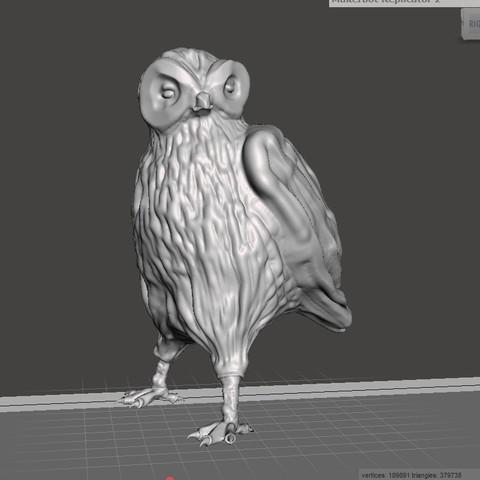 STL Owl, robertillin