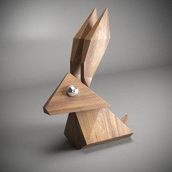 3D printer files RABBIT, robertillin