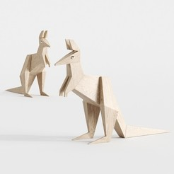 Download 3D printing files KANGAROO ORIGAMI, robertillin
