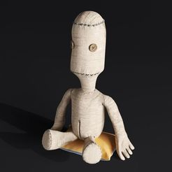 Download 3D print files SACKBOY HIGHPOLY, robertillin