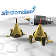 Download free 3D model Nozzly Mascot Stratomaker, Sylvestre-Bdr
