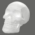 Impresiones 3D Skull Keycap STL para el modelo de impresión Cherry MX 3D, solidcinu