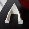 Free 3D printer files Stratocaster guitar wall mount holder, atu