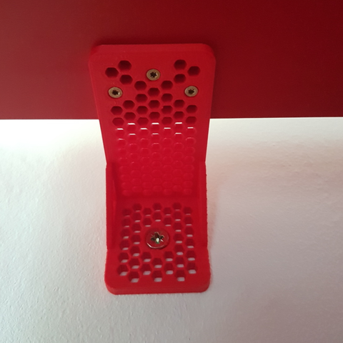 Download free 3D printer files Shelf to wall secure bracket