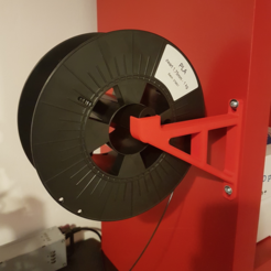 Capture d'écran 2018-01-26 à 15.18.31.png Download free STL file Wall Mounted Spool Holder (Stronger version) • 3D print template, atu