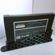Free 3D file SSD vertical holder / bracket, atu