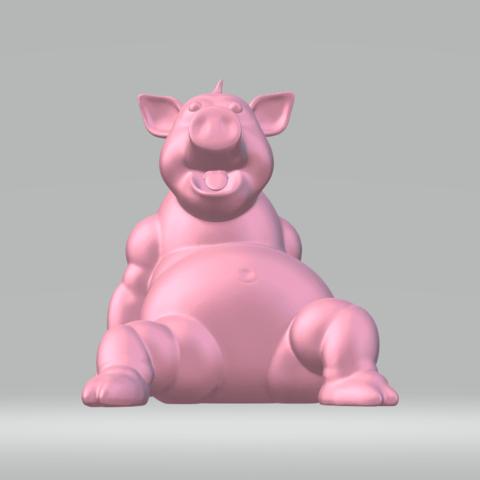 STL files Piggy, darkunu