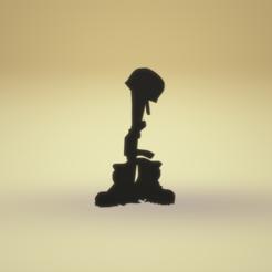 rip soldier.png Télécharger fichier STL R.I.P Soldier • Plan pour imprimante 3D, imagin3D