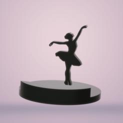 Download STL files ambient lighting Dancer, imagin3D