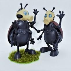 Descargar archivos 3D Loco insecto apocalíptico, imagin3D