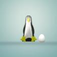 Télécharger fichier impression 3D gratuit Save Pinguins, Save the climate, imagin3D