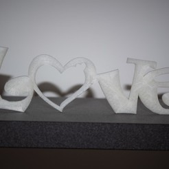 Download 3D print files Love decoration to pose, imagin3D