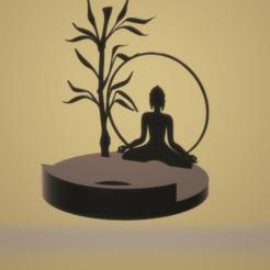 Download 3D printing designs Zen bamboo light, imagin3D