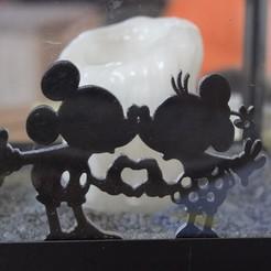 Descargar modelos 3D para imprimir Ratón de decoración enamorado, imagin3D