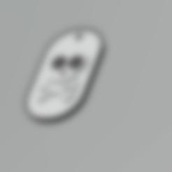 3D printer files military skull plate, darkunu