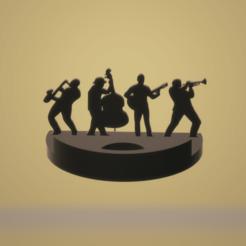STL file jazzmen group ombre, darkunu