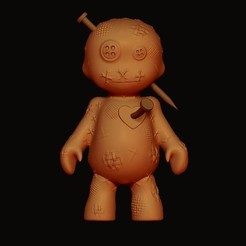 Download 3D printer templates Voodoo doll, imagin3D