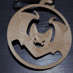 _DSC0279.jpg Download STL file bat key ring • 3D printer object, imagin3D